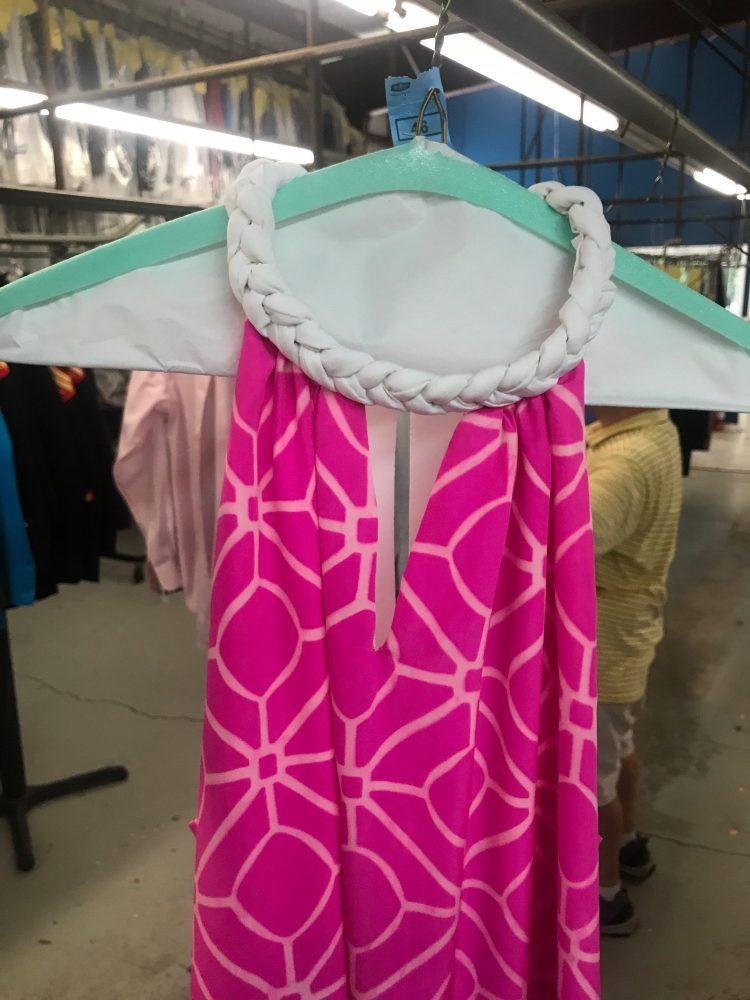 Silk Dress After